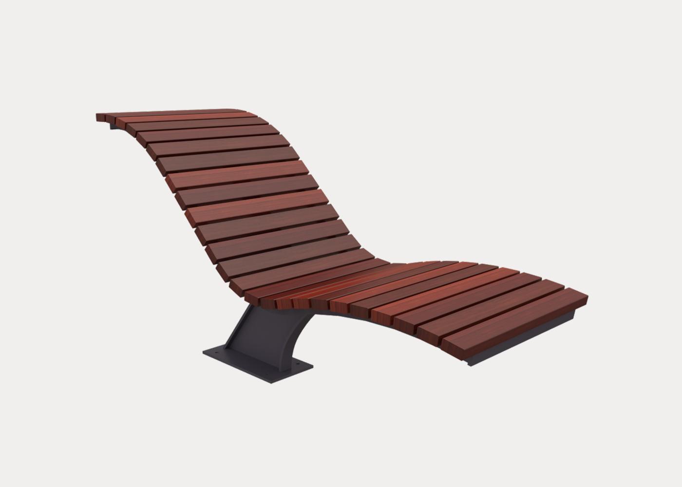 Mall Sun Lounge Street Furniture Australia