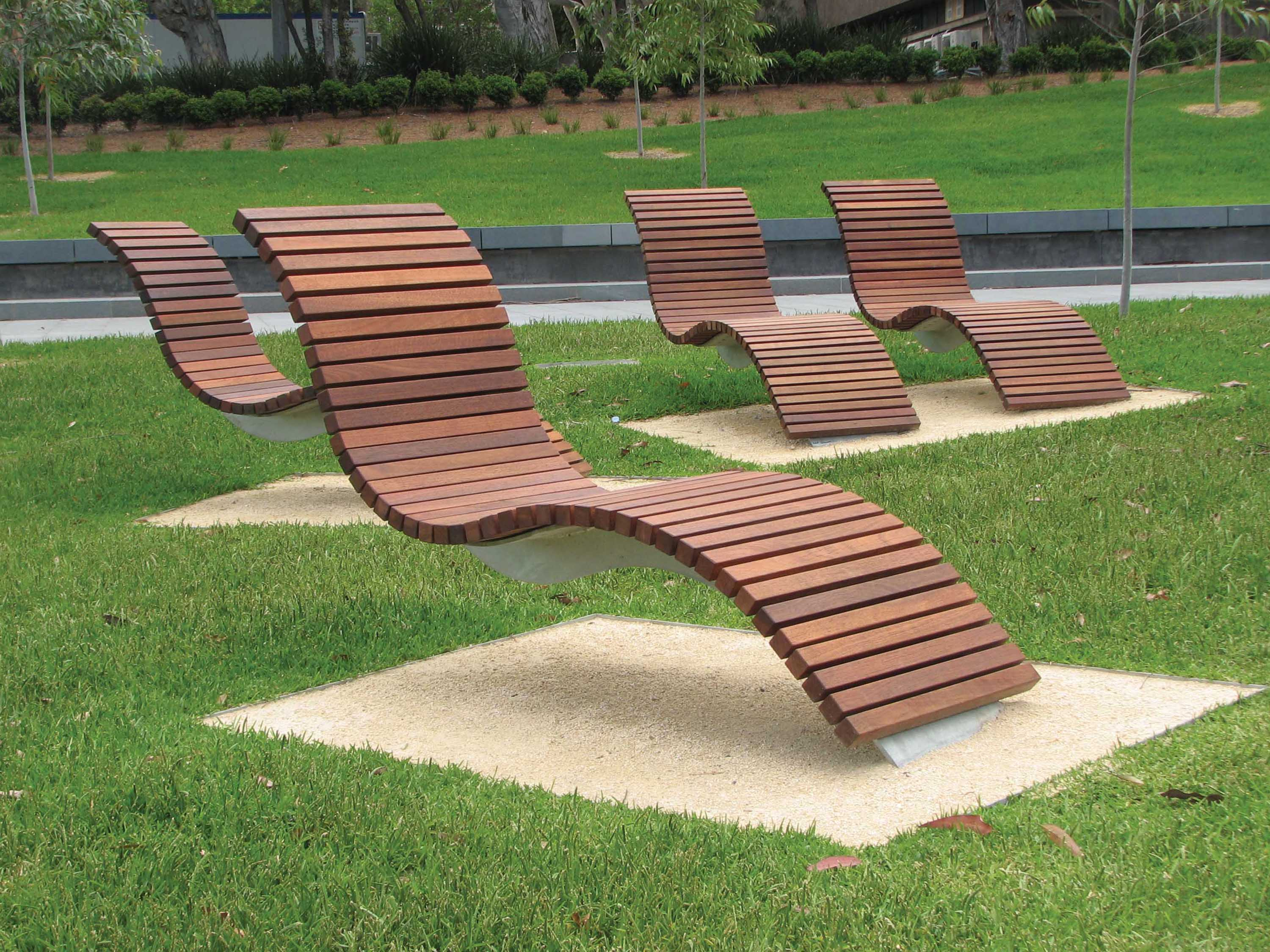 Cadigal Green Sydney University Street Furniture Australia