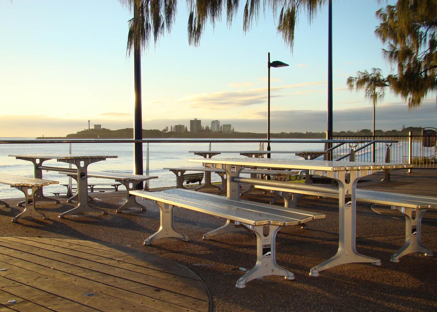 Park Bench Street Furniture Australia