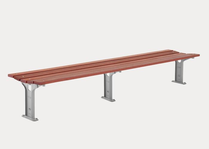 Eco-certified Hardwood Battens, 2500mm (L), Precious Silver Frames