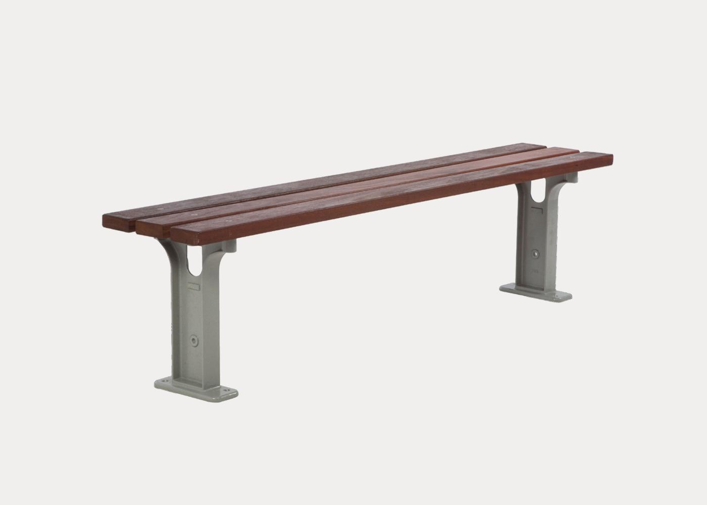 Park Slim Bench | Street Furniture Australia