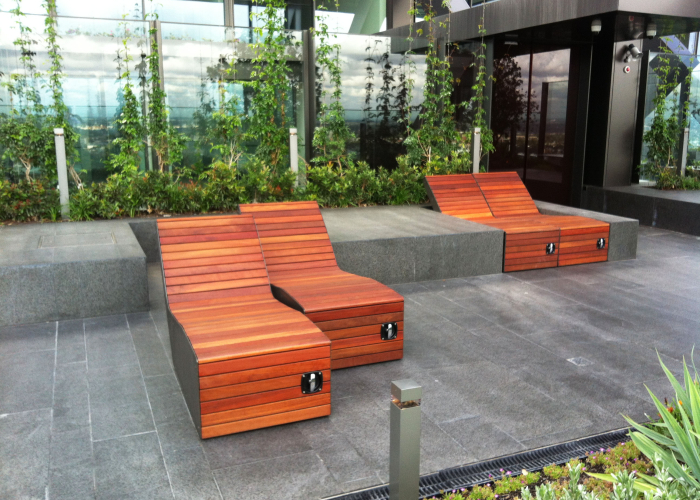 Sky Garden One Central Park  Street Furniture Australia