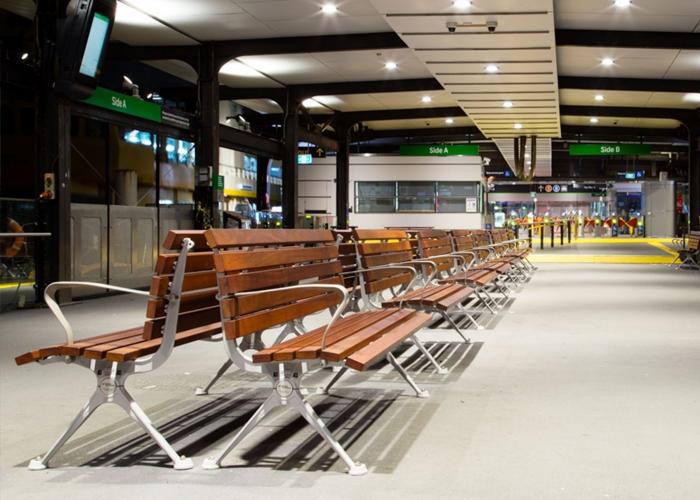 Mall seat street furniture australia for Furniture quay