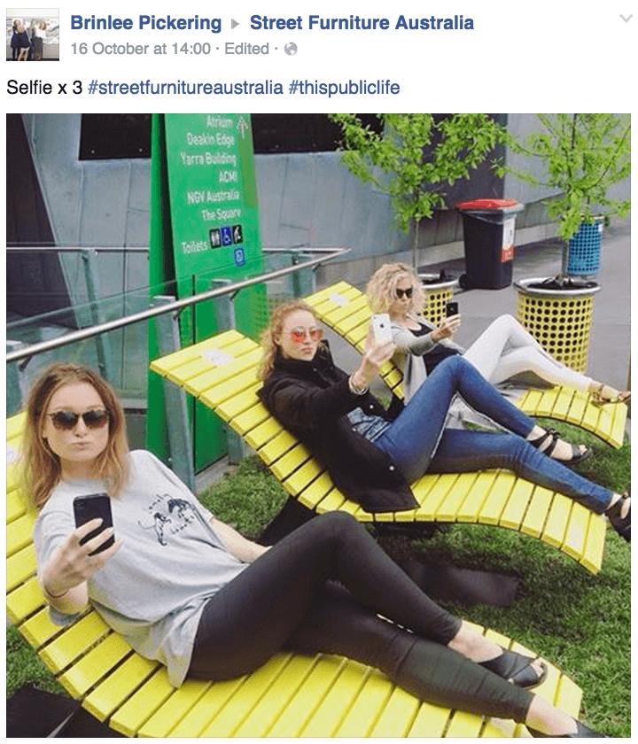 Selfie x 3