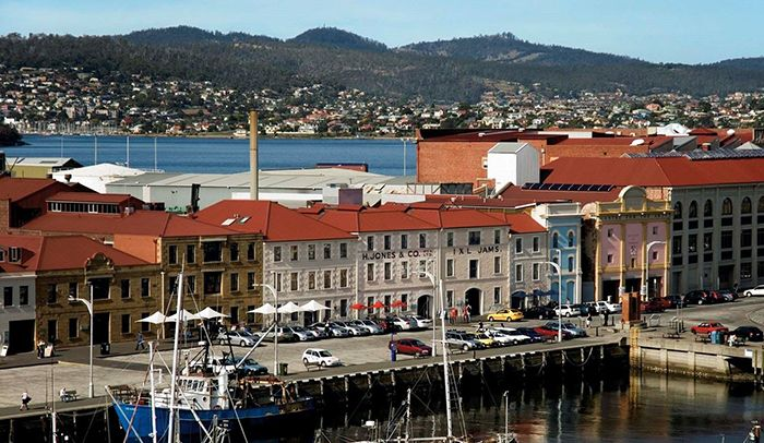 Sullivans Cove, the Hunter Street precinct and Constitution Dock have served Hobart since it was founded in 1804.