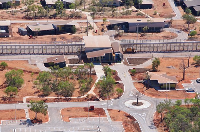 West Kimberley Regional Prison, nearing completion.