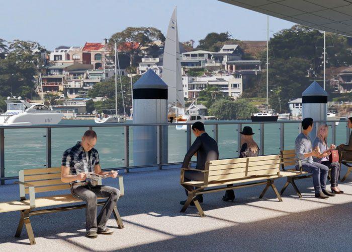 Aria Back-to-Back by Street Furniture Australia
