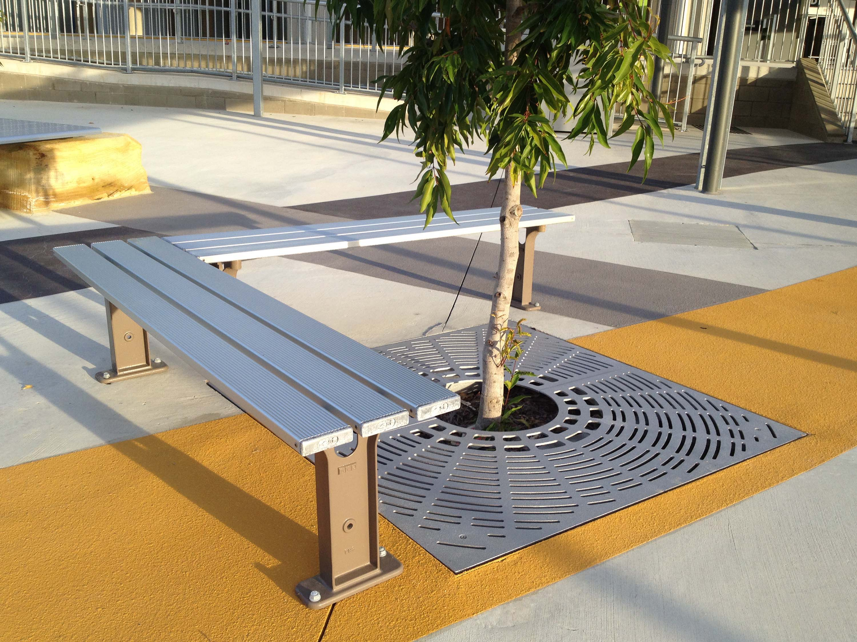 Pimpama secondary college street furniture australia