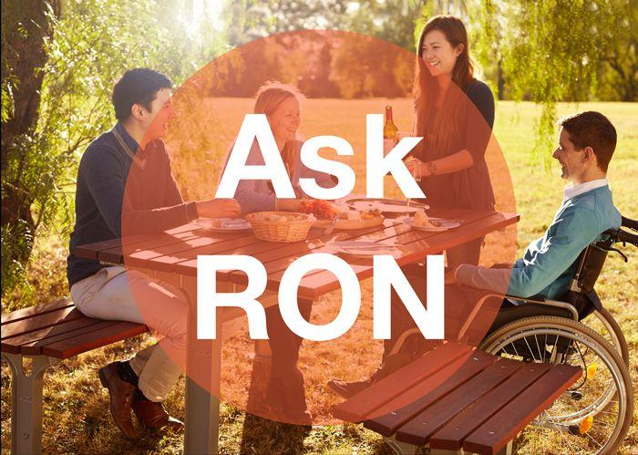 Ask Ron logo