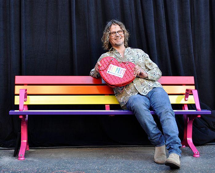 Timothy J Bishop Pride Seat-sc