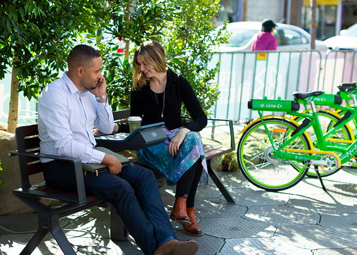 Street Furniture Australia's Kieran Bennett and TIffany Hoy visit Future Street.